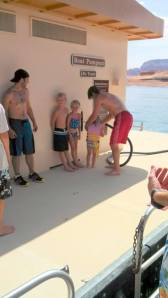 We had to take a houseboat trip to the pump-out station. Leave it to my family to make pumping waste a fun activity!