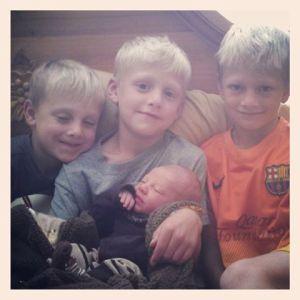 the boys) :